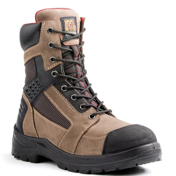 "Rebel 8"" - Steel Toe 8 Inch Work Boots"