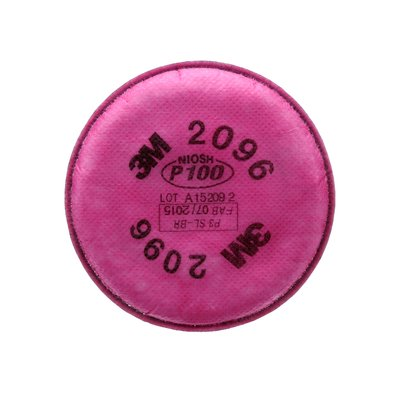 2096 Particulate Filter, P100, with Nuisance Level Acid Gas Relief