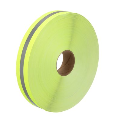 Fluorescent Lime-Yellow Vest Trim