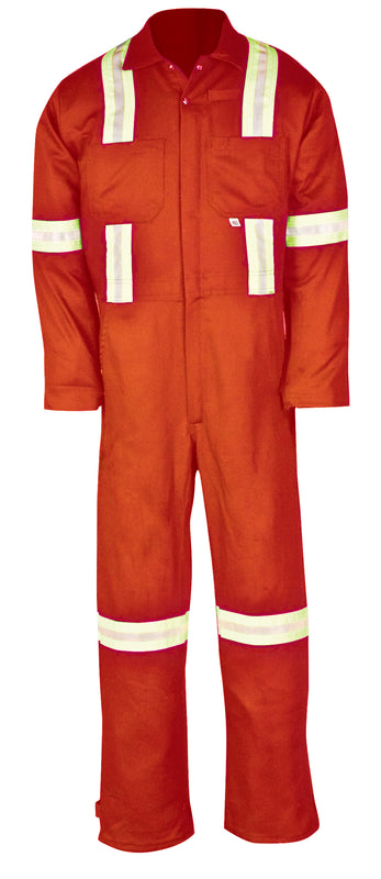 414VBF Reflective 100% Cotton Coverall