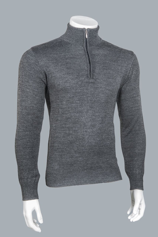 5005 Zip Mock Neck Pullover