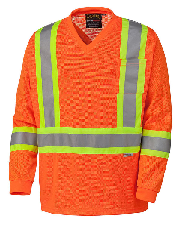 HI-Viz Traffic Long-Sleeve T-shirt