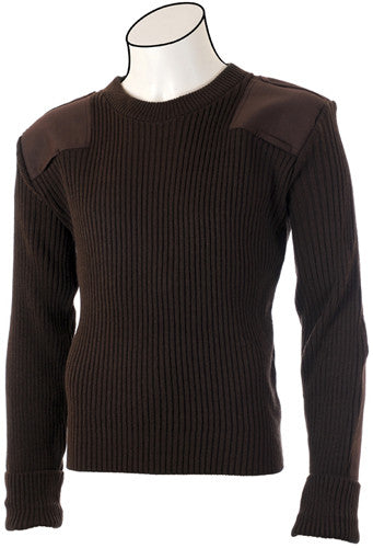 Crew Neck 2X2 Rib Commando Sweater