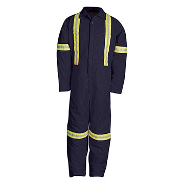 837BF Twill Coverall with Reflective Material
