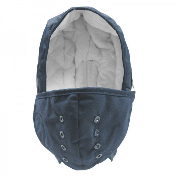 Blue Winter Liner, Polycotton/Cotton with Mouth Piece
