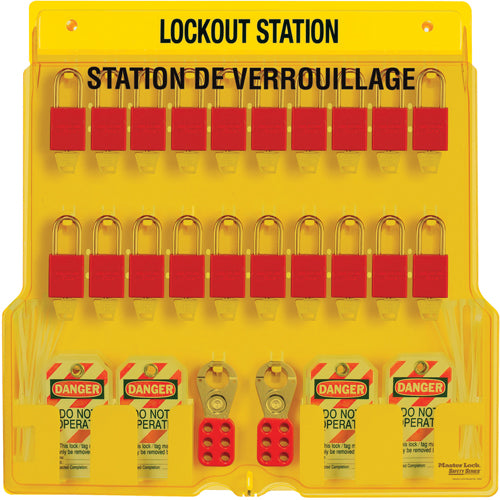 20-Lock Lockout Stations