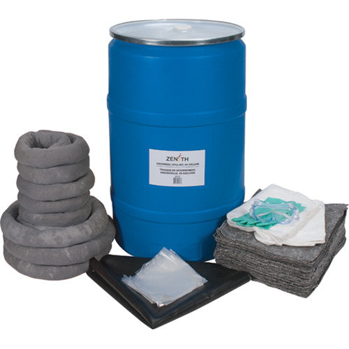 55-Gallon Eco-Friendly Spill Kits - Universal