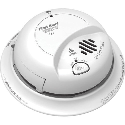 Combination Carbon Monoxide and Smoke Detector