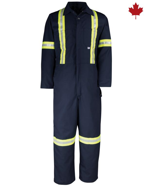 429BF Reflective Twill Coverall
