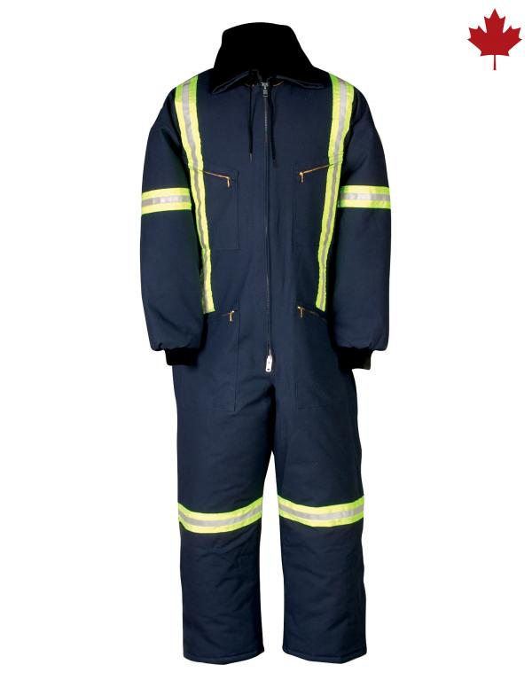804RT Insulated Coverall with Reflective Material