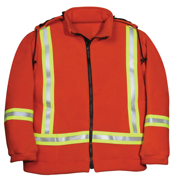 BK460PTF Fire-Retardant Fleece Jacket