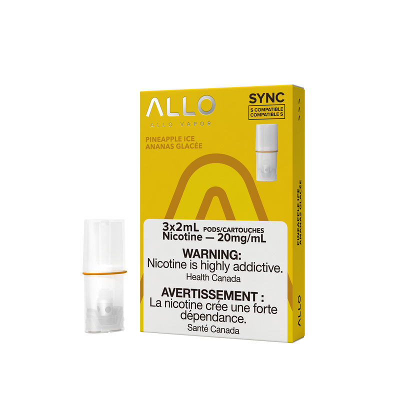 Allo SYNC Pineapple Ice Pods 20mg