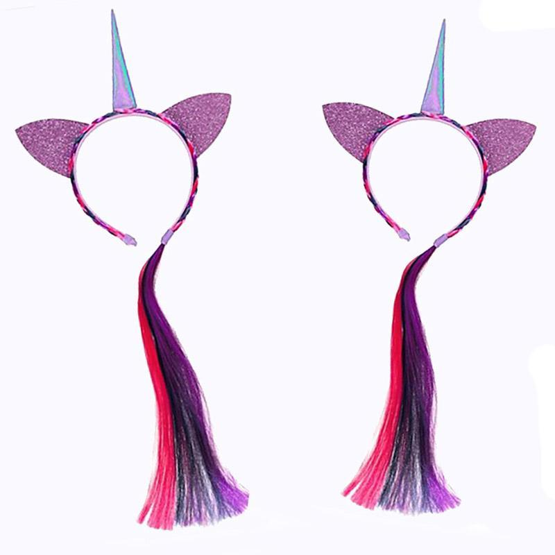Unicorn Hair Crown for Kid