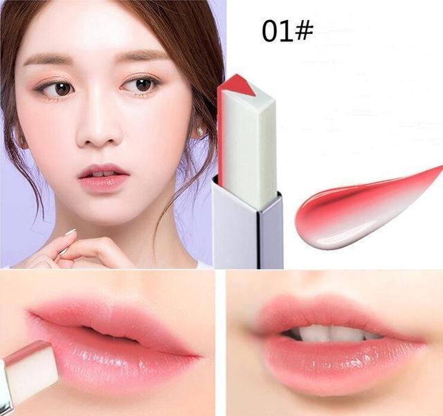 Dual Color Lipstick Waterproof