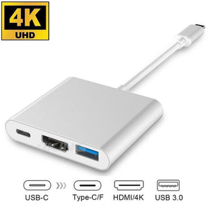 3 in 1 TYPE-C HDMI Adapter for Macbook