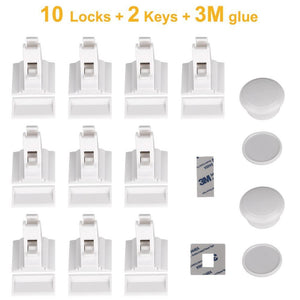 Magnetic Cupboard Safety Locks