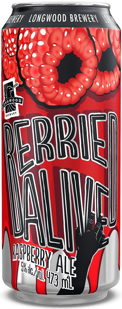 Berried Alive Raspberry Ale <span>4 pack (473 ml cans)</span>