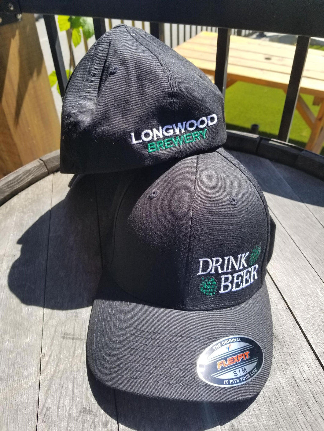 Black Baseball Hat - Drink Beer with Hops