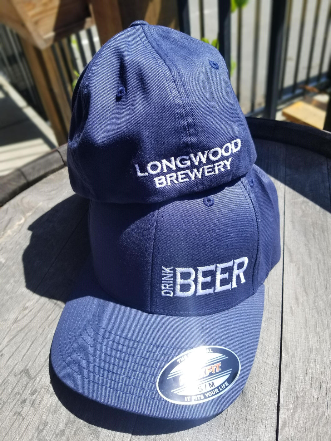 Blue Baseball Hat - Drink Beer