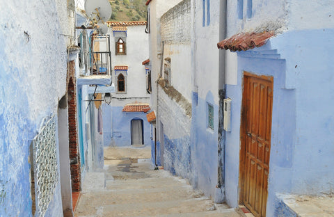 Mediterranean alleyway Canvas