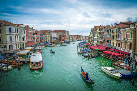 Venice Grand Canal Canvas