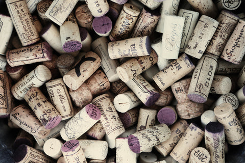 Collection of Wine Corks Wall Mural