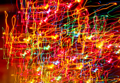 Light Art 1 Canvas