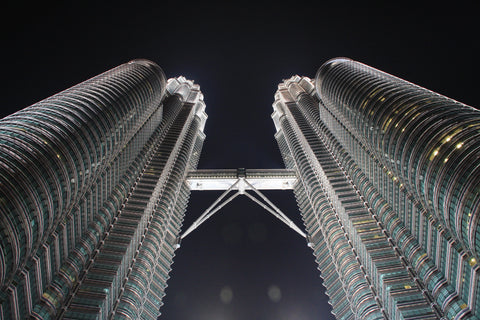 Petronas Tower Canvas