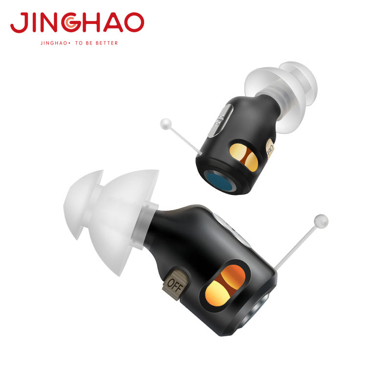 Jh-D30 mini ITE Hearing aids rechargeable
