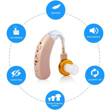 Load image into Gallery viewer, Jinhao JH-117 BTE hearing aid, easy to operate, large battery capacity, VC volume adjustment - JINGHAO