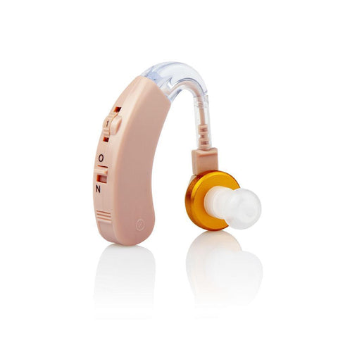 JINGHAO Hearing Aid Amplifier, Sound Amplifier Noise Reduction Small for Seniors and Adults, Fit to Either Ear - JINGHAO