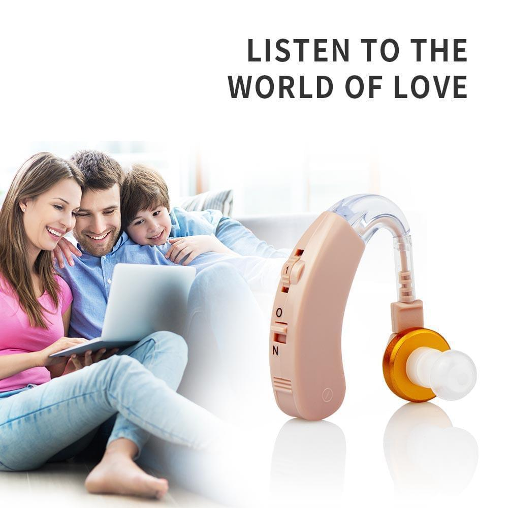 Jinhao JH-117 BTE hearing aid, easy to operate, large battery capacity, VC volume adjustment