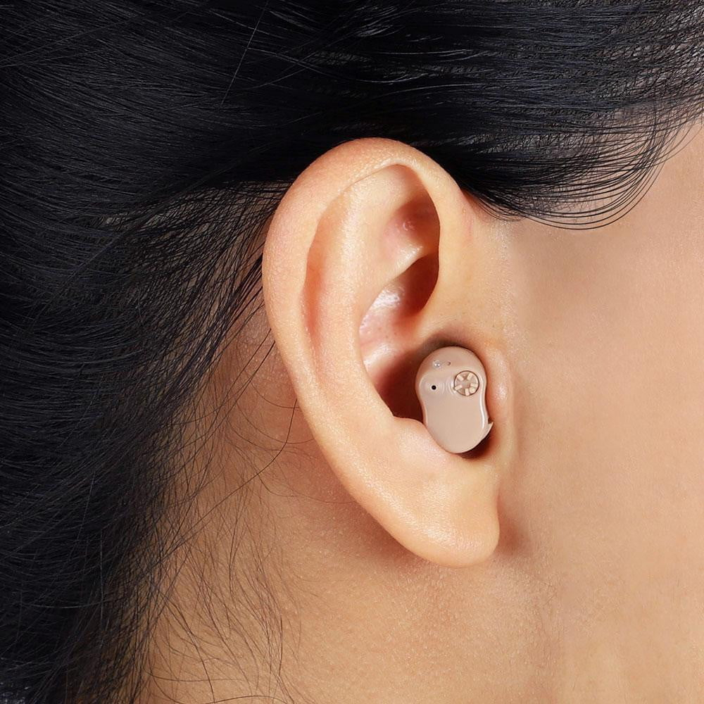 JINGHAO JH-907 in-ear hearing aid, lightweight and durable