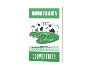 BARBARA SEAGRAM'S CONVENTIONS CHEAT SHEET