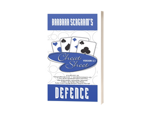 BARBARA SEAGRAM'S DEFENCE CHEAT SHEET