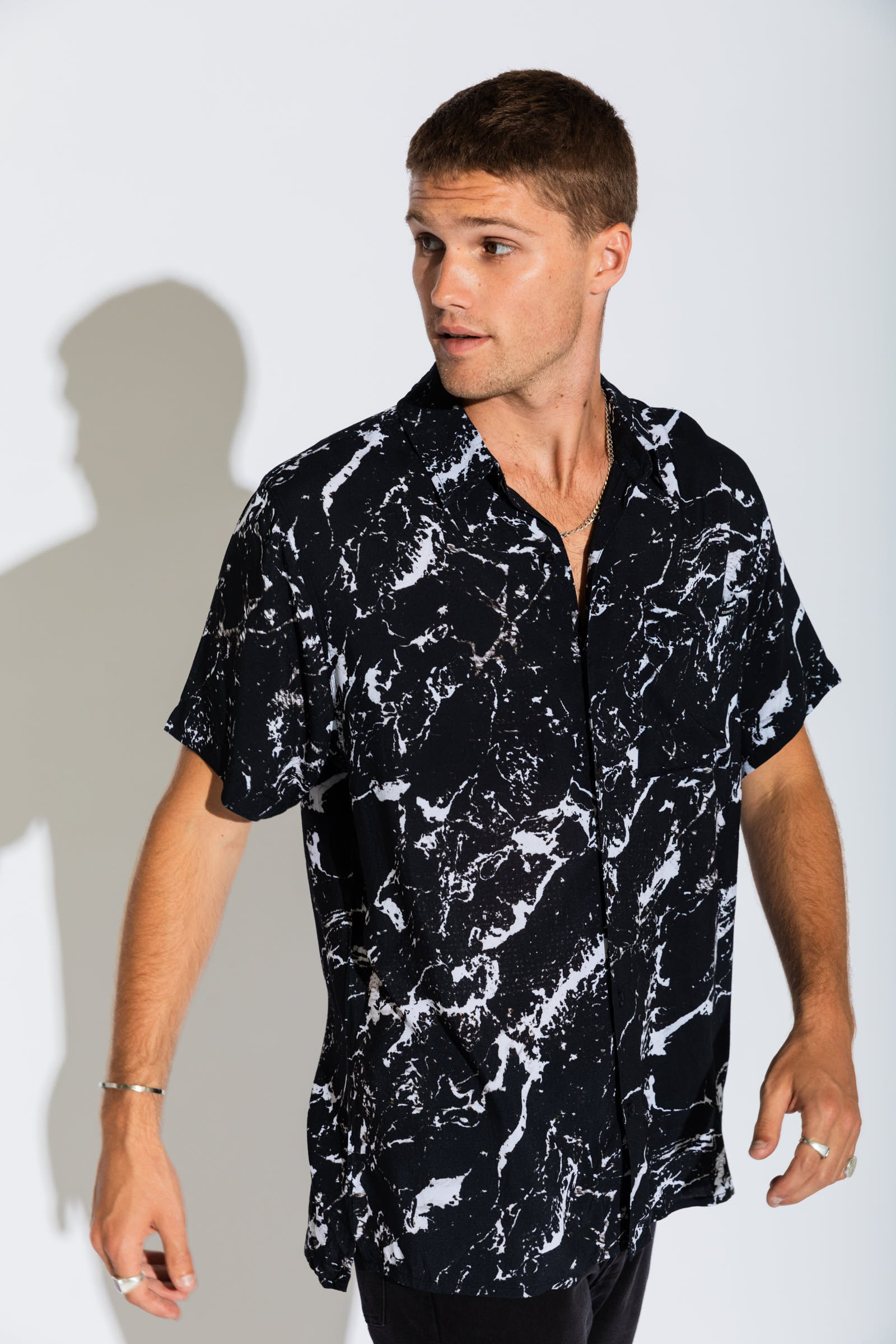 A Resort Shirt - Marble