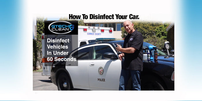 How to disinfect your vehicle.
