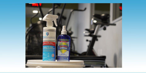 Protecting gyms, fitness centers, and martial arts studios from viruses and bacteria.