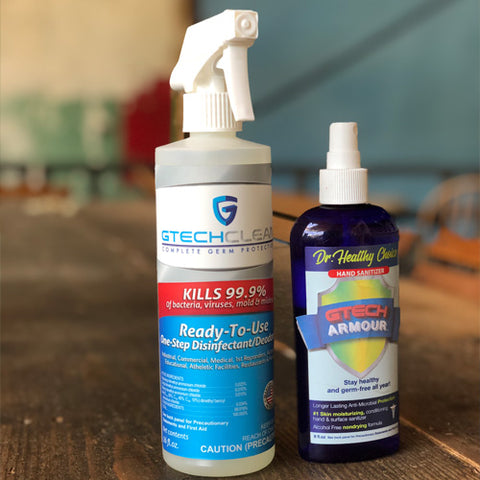 best disinfectant spray and best hand sanitizer
