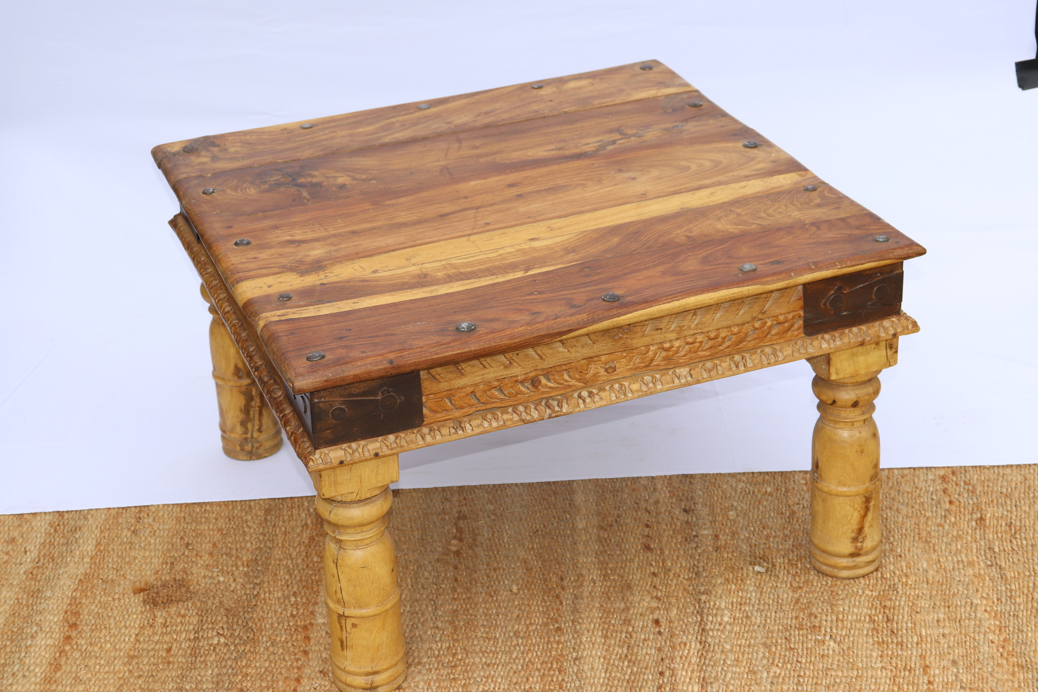 table basse bois - Noble-Maison