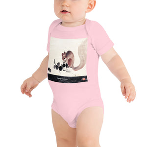Open image in slideshow, Eating happiness - Baby short sleeve one piece
