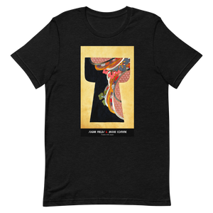 Open image in slideshow, Rainbow on your shoulder - Unisex T-Shirt