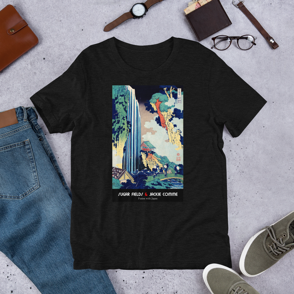 Waterfall over the madness - Unisex T-Shirt