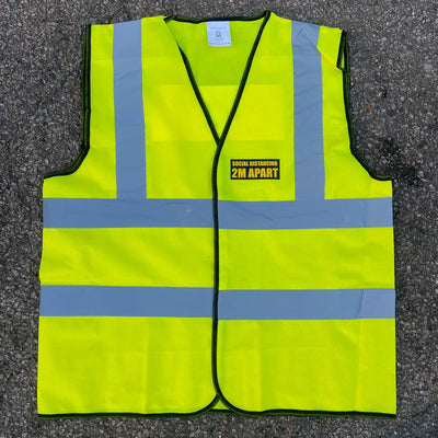Social Distancing High Vis Vests