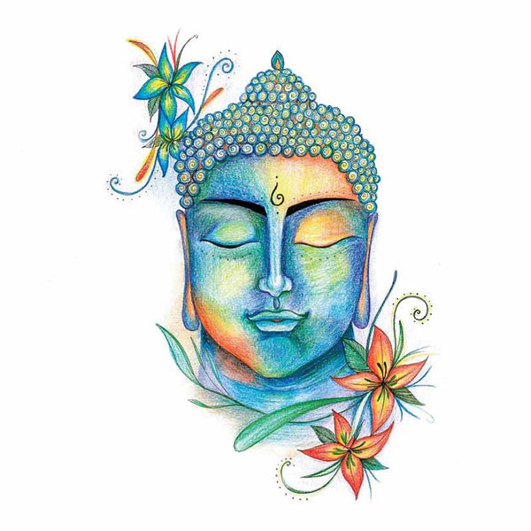 Buddha Wall Art - The Quirky Home Co