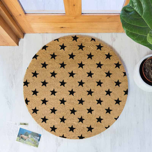 Stars Circle Doormat - The Quirky Home Co