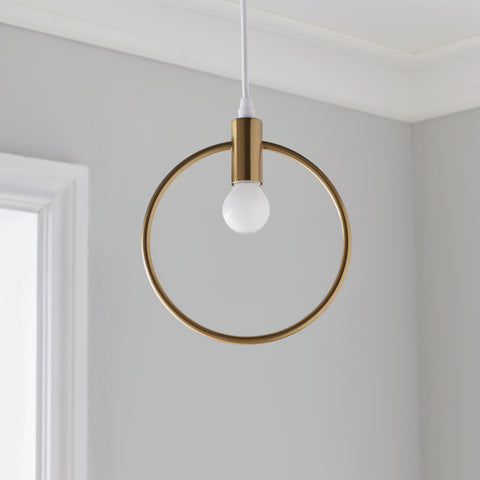 Lunar Gold Pendant Light - The Quirky Home Co