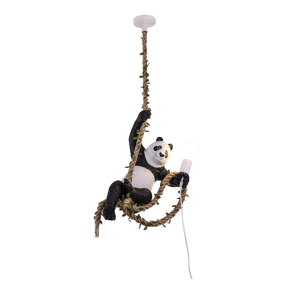 Hanging Panda Light - The Quirky Home Co