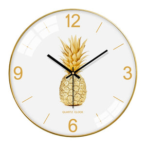 Pineapple Modern Wall Clock - The Quirky Home Co