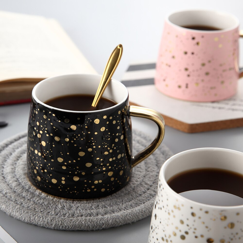 Gold Speckled Mug - The Quirky Home Co